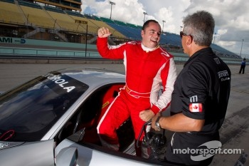 Pole winner #777 Ferrari of Qubec Ferrari 458 Challenge: Emmanuel Anassis
