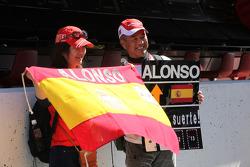 Fernando Alonso, Scuderia Ferrari fans