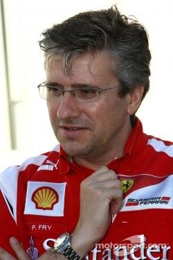 Pat Fry, Scuderia Ferrari