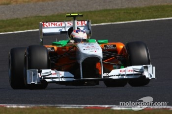 Paul di Resta, Force India F1 Team
