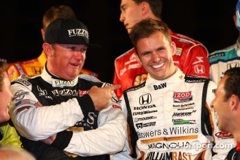 Buddy Rice and Dan Wheldon