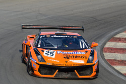 #25 Reiter Engineering Lamborghini Gallardo LP600: Max Nilsson/Henry Zumbrink