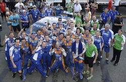#5 Ford Performance Racing: Mark Winterbottom, Richard Lyons celebrate