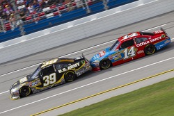 Ryan Newman and Tony Stewart