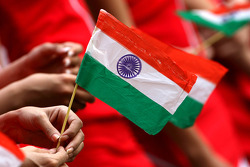 Indian flag, atmosphere