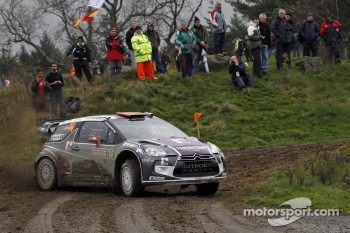 Peter van Merksteijn and Erwin Mombaerts, CITROEN DS3 WRC