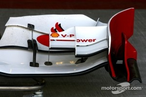 Scuderia Ferrari Technical detail front wing
