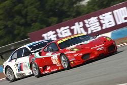 #61 AF Corse Ferrari F430: Marco Cioci, Philip Ma