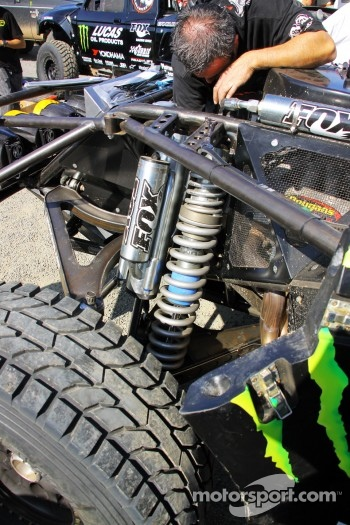 As good as it gets. Desert Assassin's suspension set up
