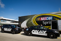 Pace car and truck