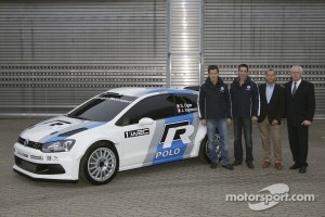 Sbastien Ogier, Julien Ingrassia, Kris Nissen, Dr. Ulrich Hackenberg, Volkswagen Development