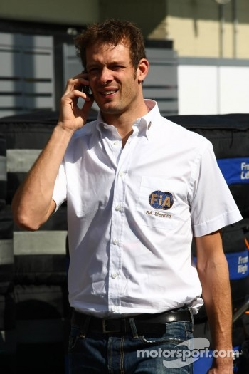 Alexander Wurz FIA offical