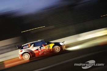 Sbastien Loeb and Severine Loeb