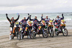 The KTM Factory team