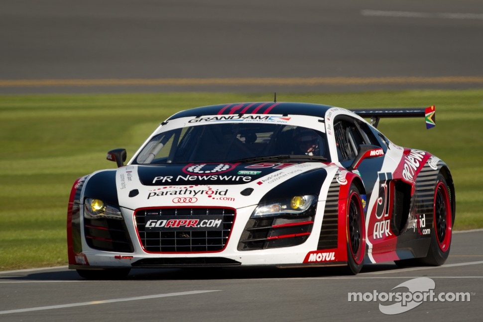 #51 APR Motorsport Audi R8 Grand-Am: Ian Baas, Jim Norman, Dion von Moltke, Nelson Canache, Emanuele Pirro
