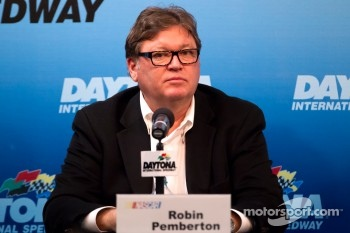 NASCAR press conference: NASCAR Vice President of Competition Robin Pemberton