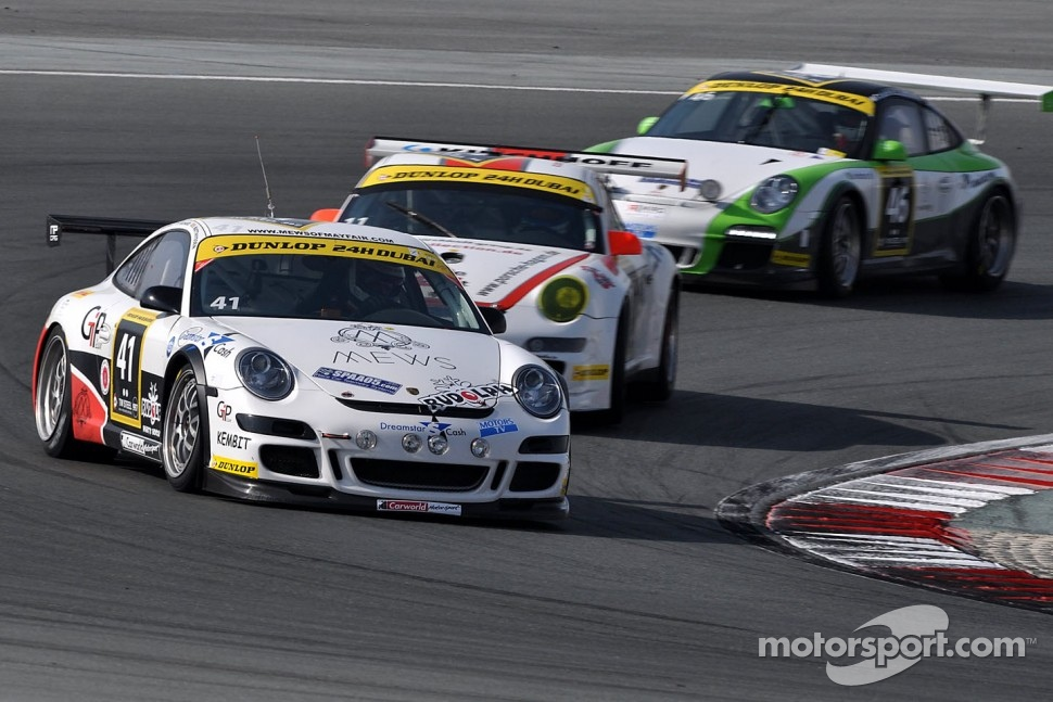 #41 Carworld Motorsport Porsche 997 GT3 Cup: Steve Matthyssen, Philippe Richard, Roger Grouwels, Robert Nearn