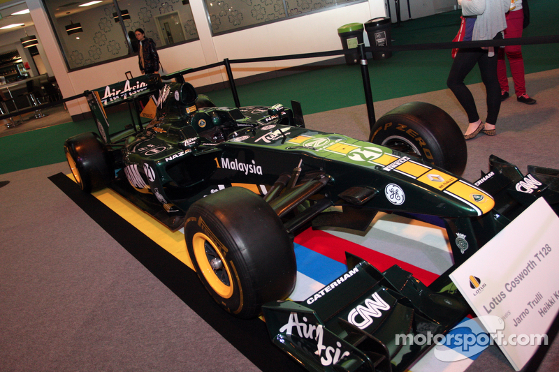 Team Lotus F1 Car