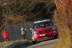 Pierre Campana and Sabrina de Castelli, Mini John Cooper Works WRC, MINI WRC TEAM