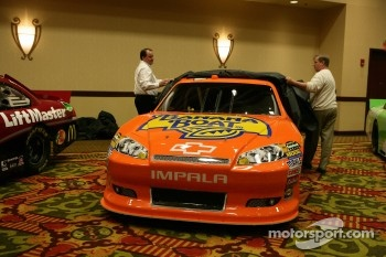 Car of Jamie McMurray, Earnhardt Ganassi Racing Chevrolet