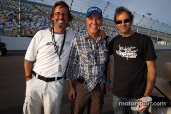 Eduardo Costabal, Eliseo Salazar and Emanuele Pirro