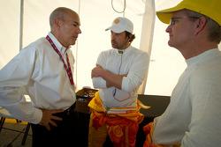 ALMS President Scott Atherton, Patrick Dempsey and Joe Foster