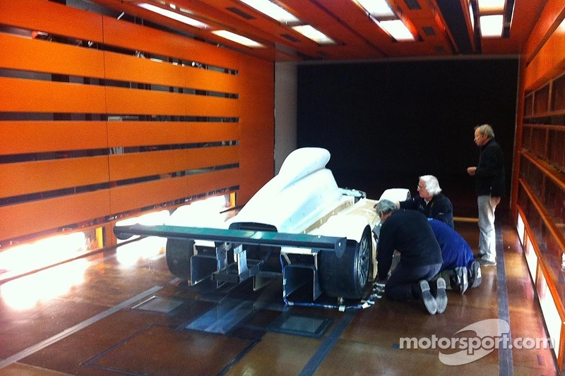 The GreenGT H2 in the windtunnel
