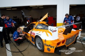 #10 SunTrust Racing Corvette DP