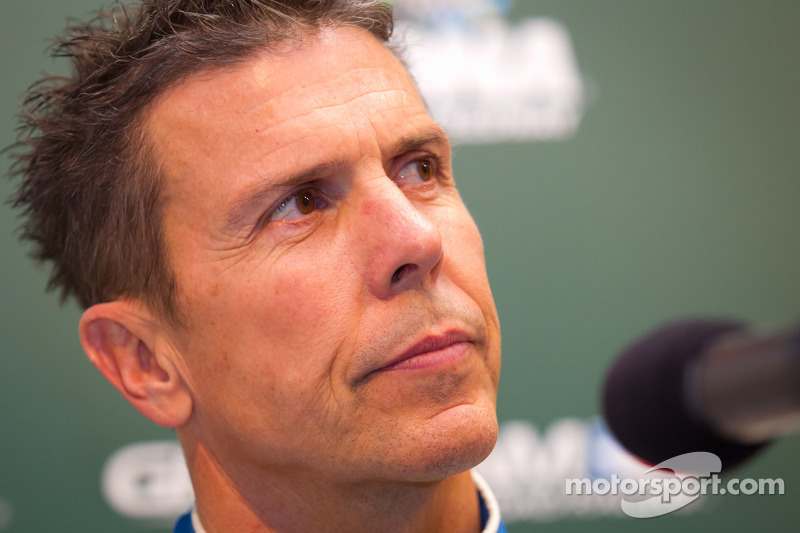 Chip Ganassi Racing press conference: Scott Pruett