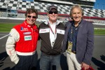 Didier Theys, Bob Bondurant and Derek Bell