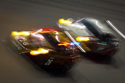 #26 NGT Motorsport Porsche GT3: Henrique Cisneros, Sean Edwards, Carlos Kauffmann, Nick Tandy, #32 Orbit/GMG Porsche GT3: Nicolas Armindo, Bret Curtis, Shane Lewis, James Sofronas, Lance Willsey