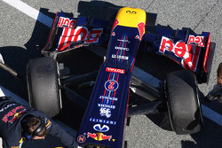 Mark Webber, Red Bull Racing front wing