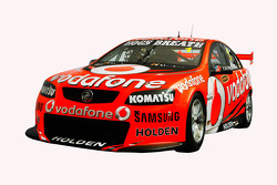 The 2012 TeamVodafone Holden