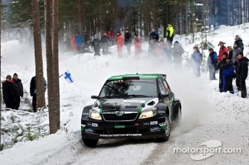Hayden Paddon and Johnathan Kennard, Skoda Fabia S2000