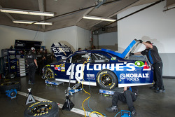 Hendrick Motorsports Chevrolet team members at work
