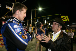 Carl Edwards, Roush Fenway Racing Ford with Jack Roush