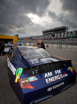 Car of Joe Nemechek, NEMCO Motorsports Toyota