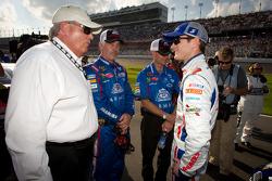 Kasey Kahne, Hendrick Motorsports Chevrolet with Rick Hendrick