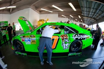Stewart-Haas Racing Chevrolet team member at work