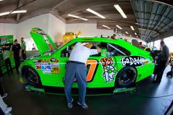 Stewart-Haas Racing Chevrolet team member at work