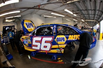 Car of Martin Truex Jr., Michael Waltrip Racing Toyota