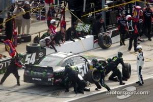 Pit stop for Kyle Busch, Kyle Busch Motorsports Toyota
