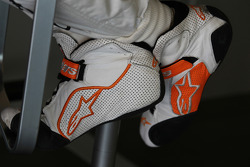 Paul di Resta, Sahara Force India Formula One Team boots