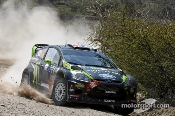 Chris Atkinson and Stéphane Prévot, Ford Fiesta RS WRC