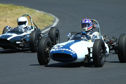 #35 Doug Mockett - Cooper T53 (1961) and #14 Robert Hoekma - Cooper T59