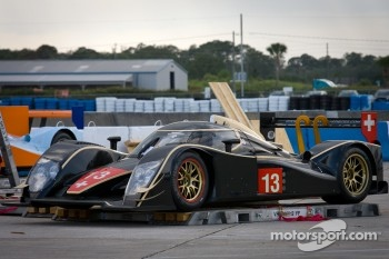 Rebellion Racing Lola B12/60 Coup - Toyota off the transport crates