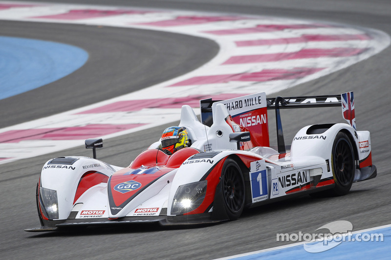 #1 Greaves Motorsport Zytek Z11SN Nissan: Alex Brundle, Martin Brundle, Tom Kimber-Smith, Lucas Ordonez