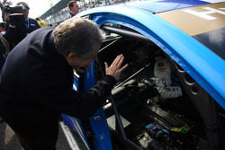 Yvan Muller, Chevrolet Cruze 1.6T, Chevrolet and Jean Todt, President FIA