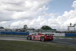 #61 AF Corse-Waltrip Ferrari F458 Italia: Robert Kauffman, Michael Waltrip, Rui Aguas