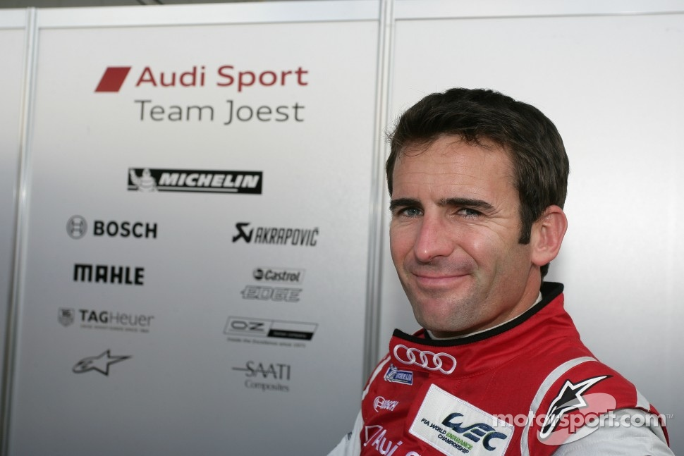 Romain Dumas with Audi at 2012 Sebring 12 Hours